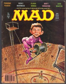 Mad Magazine 246 April 1984 Humor Don Martin Alfred E Newman