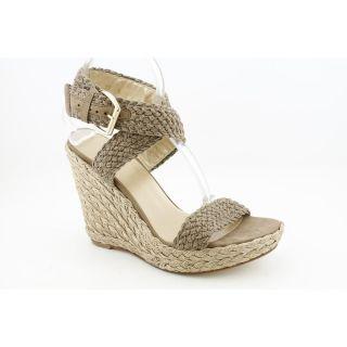 Stuart Weitzman Alex Womens Size 9 5 Brown Crochet Platforms Sandals