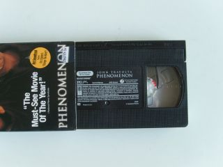 Phenomenon VHS Movie Video Tape John Travolta with Eric Clapton Change