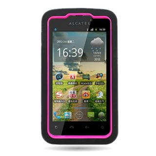 Heavy Duty Dual Cover Case for Alcatel One Touch 960C Authority