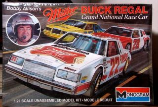 Monogram 22 Bobby Allison Miller Buick Regal Champion