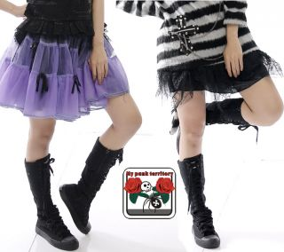Japan Gothic Cyber Punk Street Rock Avril Emo Boots 37