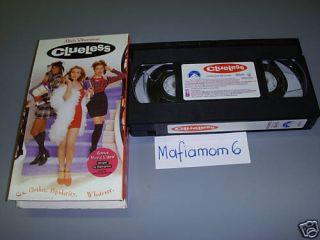 Clueless VHS Alicia Silverstone Bonus Music Video 097363321538