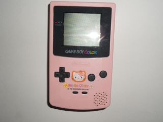 Hello Kitty Game Boy Color Handheld Console System Japan GBC