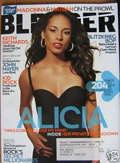 Alicia Keys 69 Blender Magazine 5 08 Madonna Mariah