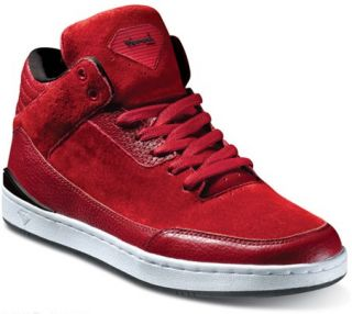 Diamond Supply footwear Marquise Red Black Leather Shoes