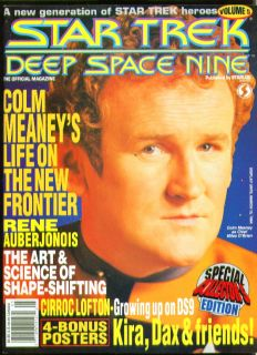 STAR TREK DEEP SPACE NINE Official Magazine #5 Colm Meaney ++ 1994