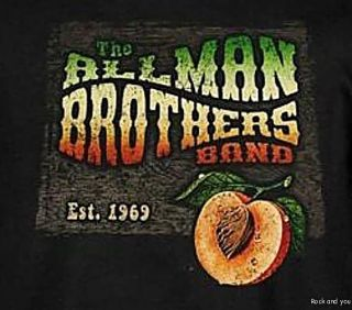 Allman Brothers Est 1969 Rock Blues Retro T Shirt s NWT