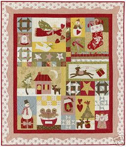 All Things Christmas 7 Bom Quilt Pattern Bunny Hill