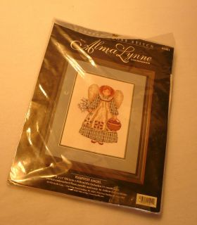 Alma Lynne Design Counted Cross Stitch Embroidery Kit Harvest Angel