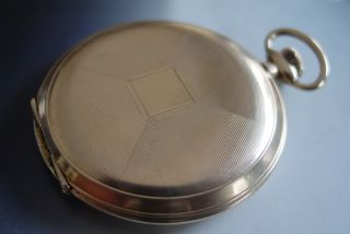 ALPINA VINTAGE HUNTER CASE POCKET WATCH CAL 336