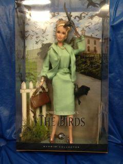 Alfred Hitchcocks The Birds Barbie Doll 2008 Black Label 027084547467