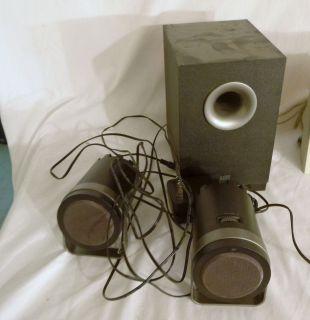 Altec Lansing BX1221 Computer Speaker System