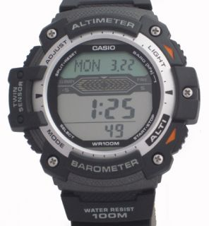 Thermometer Watch SGW 300H 1AVER Barometer Altimeter Digital