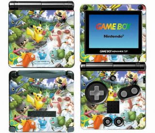 016 Vinyl Decal Skin Sticker for Game Boy Advance GBA SP