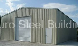 Duro Steel 30x60x17 Metal Building Kit Residential Garage Auto Lift