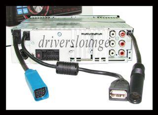 Alpine CDA 105E CD  WMA USB iPod iPhone IMPRINT Ready, Car Headunit