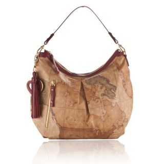 ALVIERO MARTINI 1° CLASSE Geo Soft Woman Shoulder Bag G979 Red