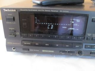 Technics Quartz Synthesizer Am FM Stereo Receiver SA GX