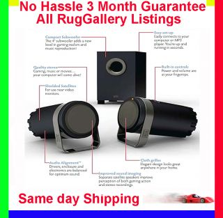 Altec Lansing BXR1221 Computer SPEAKER SYSTEM SUBWOOFER POWERED GREAT