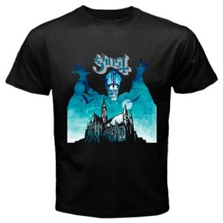 Ghost Band Opus Eponymous Heavy Doom Metal Rock Music Mens Black T