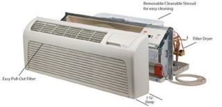 Amana PTAC 9,000 btus Package Terminal Air Conditioner w/ Heat Pump