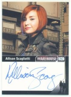 Allison Scagliotti Claudia Autograph Warehouse 13 S2