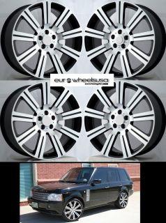 20 Rims Wheels for Range Land Rover HSE LR3 New Set of 4 Rims Caps in