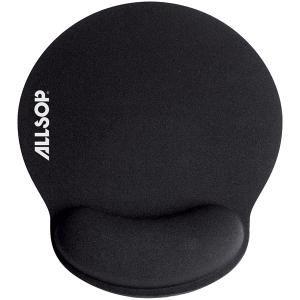 Allsop 30203 Comfortfoam Memory Foam Round Mouse Pad Black Retail New