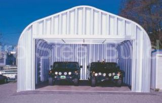 Duro SPAN Steel 30x40x14 Metal Building Kits DiRECT Residential Garage