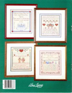 Alma Lynne Home Sweet Samplers Cross Stitch Booklet