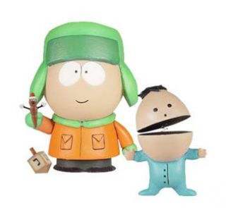 KYLE & IKE FROM THE SOUTH PARK CLASSICS SERIES 2 VINYL FIGURES SET BY