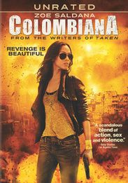 Colombiana DVD 2011 Zoe Saldana Brand New SEALED Great Movie