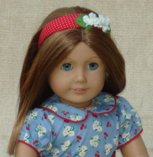 18 American Girl Doll Emily w/ AG Accessories & Her Dog Yank