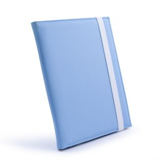 Tuff Luv Slim Case for Kindle 6 E Ink Kobo Touch Glo Blue Rechg Light
