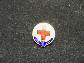 Vintage American Red Cross Pin World War II