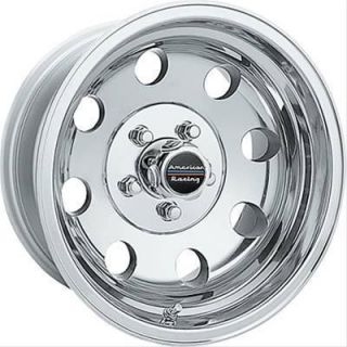 American Racing Wheel Baja Aluminum Polished 15x7 5x5 5 3 75 Pair