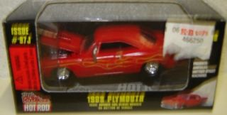 RACING CHAMPIONS 1968 Plymouth Issue # 97J HOT ROD Collectible 1/62