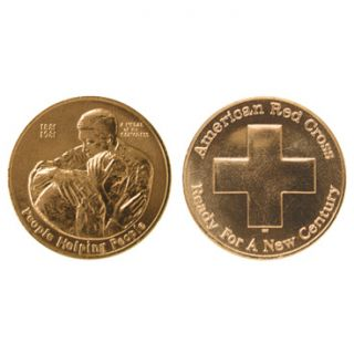 description american red cross medal a must have to all