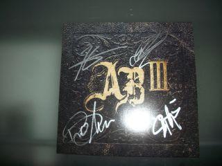 Alter Bridge Signed Limited Edition Import Double Vinyl Record LP