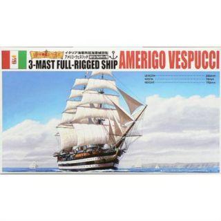 Aoshima AOS44278 1/350 3 MAST FULL RIGGED SHIP AMERIGO VESPUCCI