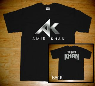 Team Amir Khan Boxing Champion English Pakistan T Shirt