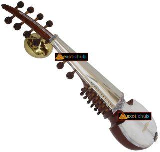 Brass Tumba Ali Akbar Khan Style Designer TUN Wood Sarood