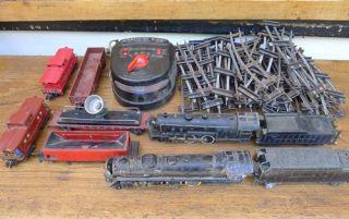 American Flyer Locomotive Tender Train 302 322 Toy Transformer Cars