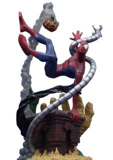 MARVEL MILESTONES SPIDER MAN STATUE   VENOM SANDMAN GOBLIN OCTOPUS