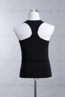 AMT Mannequin Torso Dress Form Male White Fabric
