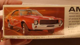 Model Kits Original SEALED 1968 AMX 390 Revell Model Kit