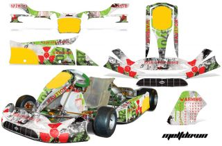 AMR Racing Graphic Sticker Kit Tony Kart Venox Part Accessories