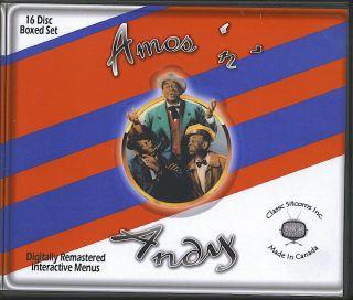 Amos N Andy Complete TV Series 16 Discs