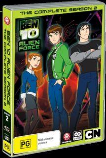 Ben 10 Alien Force Complete Season 2 2 Disc Set DVD